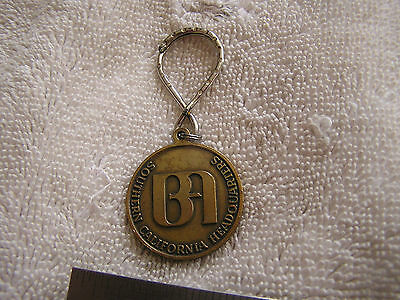Vintage Bank Of America Key Chain 1972