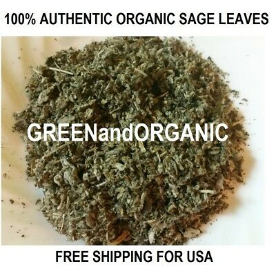 BEST 1 Lb/16oz Loose Sage Smudge Dry Crush Leaves/Cluster Cleansing Purification
