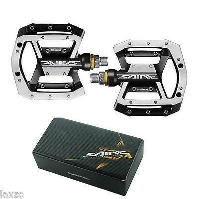 Shimano Saint PD-MX80 Saint Mountain Bike Flat / Platform Pedals with Spare pins