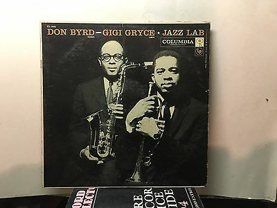 DONALD BYRD & GIGI GRYCE - Jazz Lab ~ CBS 998 {dg 6 eye} [1C & 1B matrix] ->RARE
