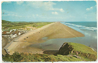 Pendine Sands, 1970 postcard
