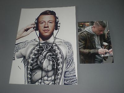 Macklemore  signed signiert autograph Autogramm auf 20x28 Foto in person