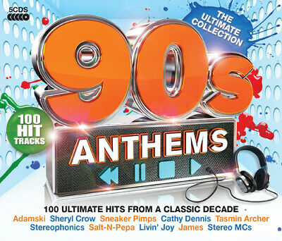 Various Artists : 90s Anthems: The Ultimate Collection CD (2014)