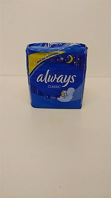 Always Classic Night Sanitary Pads 4 Packs Of 8 Pads