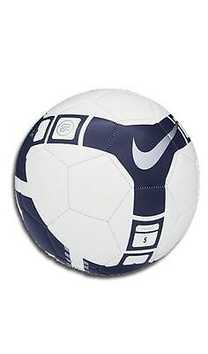 Nike T90 Total 90 Pitch 2010 - 2011 Soccer Ball Brand New White - Blue - Silver