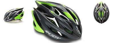 Casco Bici RUDY PROJECT STERLING Graphite/Lime Fluo Matte/HELMET STERLING RUDY P