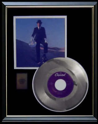 Pink Floyd Rare Gold Record Platinum Disc 45 Rpm  Wish You Were Here