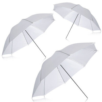 "Neewer 3pcs 33"" Studio Lighting Reflective Flash Translucent White soft Umbrella"
