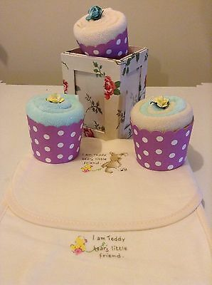 Cupcakes Newborn Baby Shower Gift  New Baby Boy Or Girl Neutral Pack
