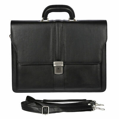 Bag Street Business Aktentasche Tasche Messenger Laptop Leder Optik Herrentasche