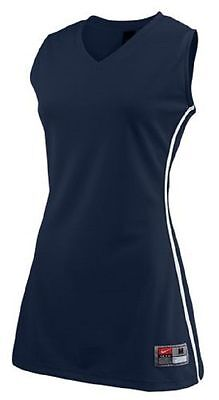 Nike Women's Stock Front Court Team Basketball Navy - white Jersey SIZE XL