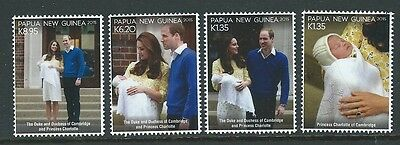 Papua New Guinea 2016 Princess Charlotte Of Cambridge Unmounted Mint, Mnh