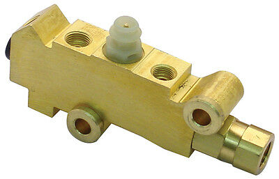 Gm Disc Drum Brakes Brass Proportioning Valve Street Rod Classic Car & Truck