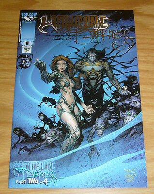 Witchblade/the Darkness #1 VF/NM platinum edition variant - limited to 750