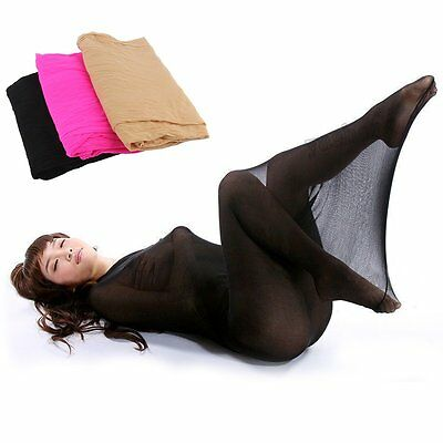Bodyhose Sexy Pantyhose Tights Nylon Cocoon Lingerie Holds One People 3 Colors