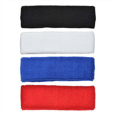 4 PCS Different Color Cotton Sports Basketball Headband /Sweatband Head