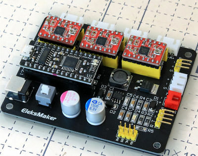 USB GRBL 3 Axis Stepper Motor Driver Board Controller Laser CNC