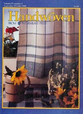 Handwoven magazine sept/oct 1985:curtain crinkle cloth