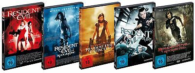 Resident Evil 1+2+3+4+5 (Apocalypse - Extinction - Retribution) # 5-DVD-SET-NEU