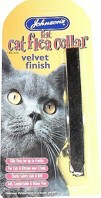 TWELVE x Cat  Felt Flea Collar Velvet Finish With Bell Assorted Colours