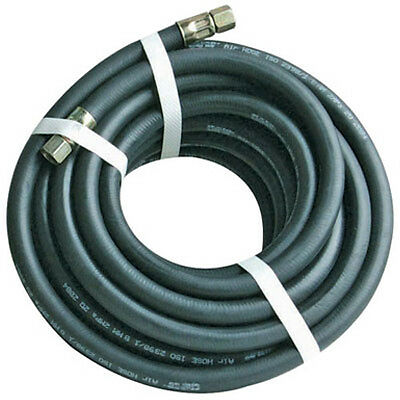High Quality Reinforced Compressor Air Line Rubber Hose 8Mm 5/16'' Bore - 10Mtr
