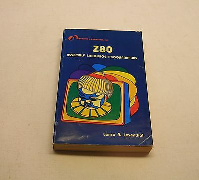 Excellent Z80 Assembly Language Programming Book, 1979