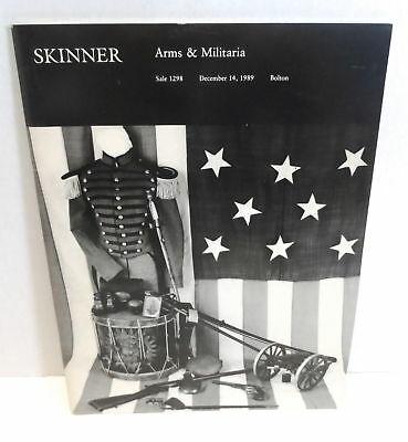 SKINNER Arms & Militaria Auction Catalog Sale 1298 December 14 1989 Bolton MA