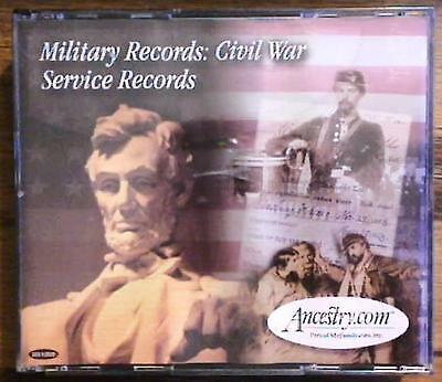 CD ROM ~ Military Records: Civil War Service Records ~ 3-CD Set ~ Genealogy