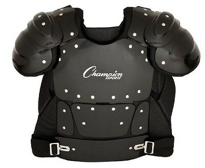 Champion Sports Outside Plastic Shield Professional Umpire Chest Protector P200