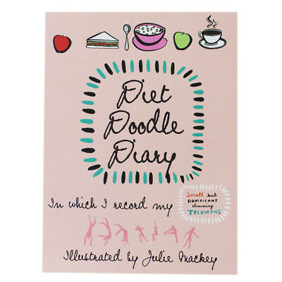 Diet Doodle Diary by Julie Mackey (Paperback), Non Fiction Books, Brand New