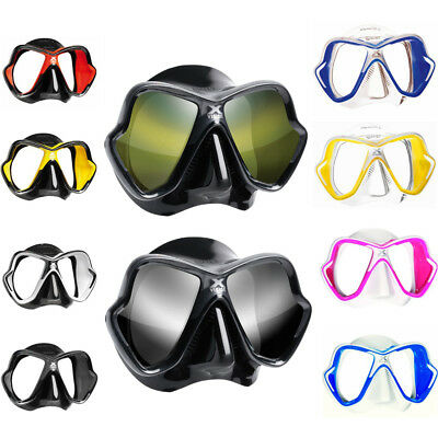 NEW Mares X-Vision Ultra Dive Snorkel Mask - With Liquid Skin Technology Skirt