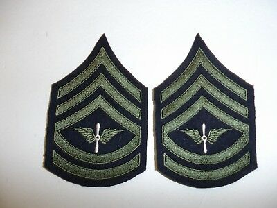 b1560 1930's-WW2  US Army unofficial  Army Air Corp Technical Sergeant chevron