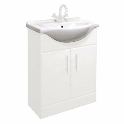 650mm Standard Replacement Basin Sink for Classic Bathroom Vanity Unit
