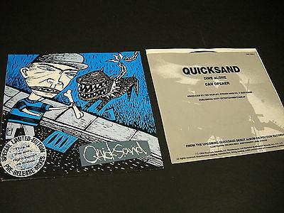 QUICKSAND 1992 Promo 45 pic sleeve DINE ALONE - CAN OPENER special mixes MINT