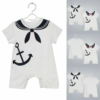 Newborn Kids Baby Boys Girls Romper Bodysuit Playsuit Outfit Clothes 0-24M NEW