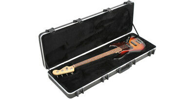 SKB PRO HARD MOLDED ELECTRIC BASS GUITAR FLIGHT CASE TSA - for JAZZ or PRECISION