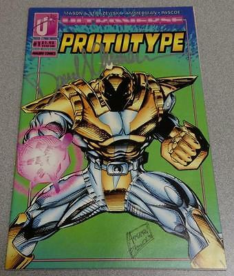 Prototype #1 Malibu Comics 1993 Signed By David Ammerman With COA