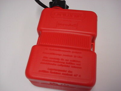 1 Litre Spare Fuel Petrol Can  - Red Fuel Friend (1MB501)