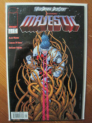 WILDSTORM SPOTLIGHT featuring MAJESTIC # 1 by ALAN MOORE. IMAGE.1997