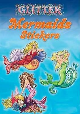 Glitter Mermaids Stickers by Eileen Rudisill Miller (English) Paperback Book Fre
