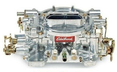 Edelbrock 1407 Performer Series Satin Finish 750 CFM  Manual Choke Carburettor