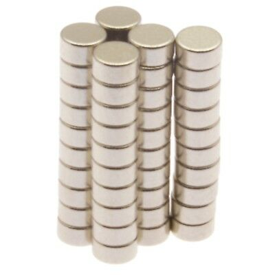 "Small Neodymium Disc Magnets 1/8"" x 1/16"" (3mm x 1.5mm) Rare Earth Magnet 50 100"