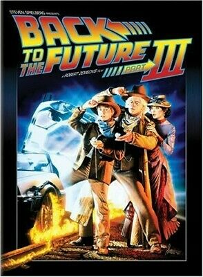Back to the Future Part III DVD