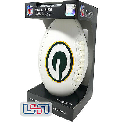 Green Bay Packers Signature Series NFL Official Licensed Football - Full Size