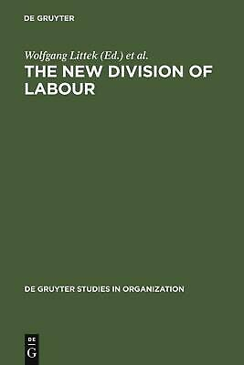 NEW The New Division of Labour by Hardcover Book (English) Free Shipping
