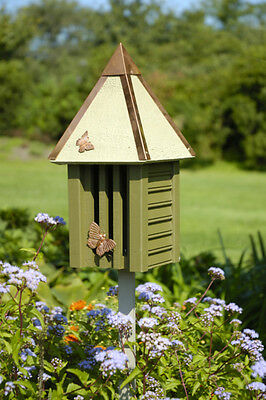 Heartwood Flutterbye Butterfly House - Pinion Green 095E Butterfly House NEW