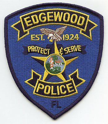 Edgewood Florida Fl Police Patch