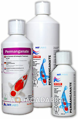 Nt Labs Permanganate Dip 250Ml 500Ml 1L Koi Care Fish Pond Ulcer Bath Treatment