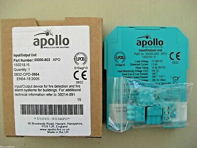 £36 Apollo 55000-803 APO XP95 Din Rail Input Output Unit