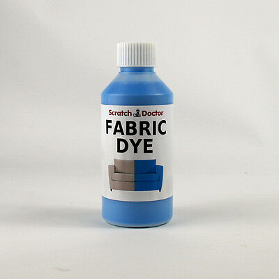 BABY BLUE Fabric Dye for Sofa, Clothes, Denim, & more. Repairs & Re-Colours